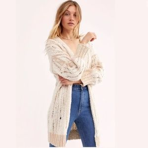 Free People Tearing Up My Heart Cardi